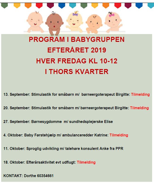 babygruppe program efteraar