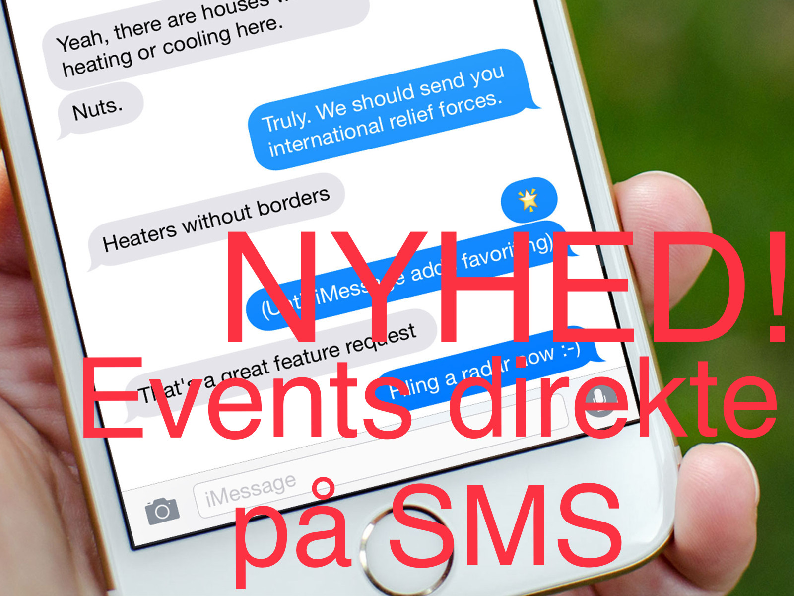 SMS EVENT